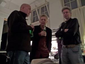 Fred van Rijen, Ton van Dalen en Ton Kraayeveld
