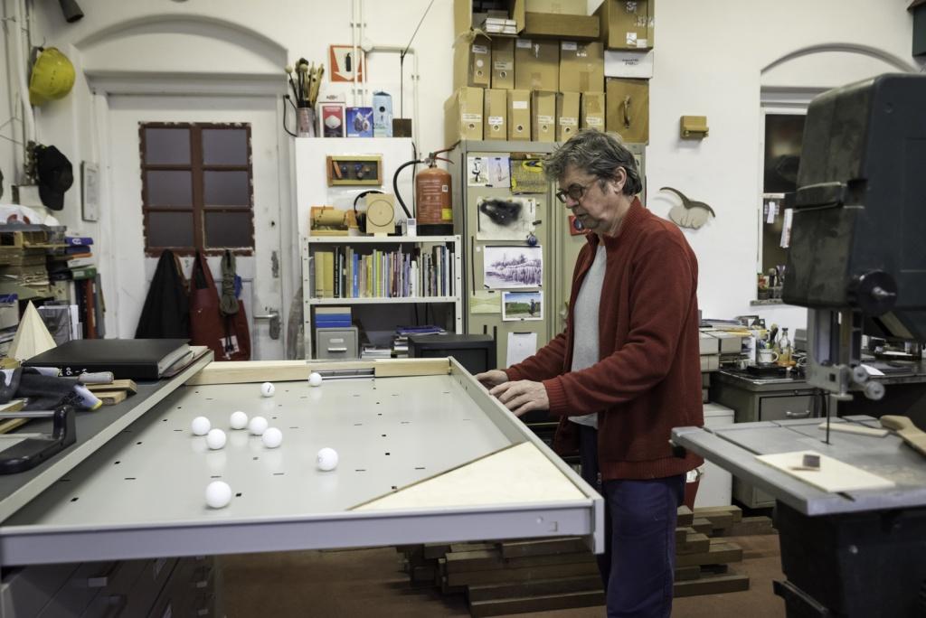 Werkplaats van beeldend kunstenaar Nico Parlevliet, Singel 222 Dordrecht